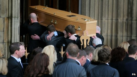 Funeral of Paul Goggins MP