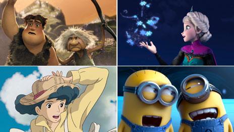 Animated film Oscar nominees