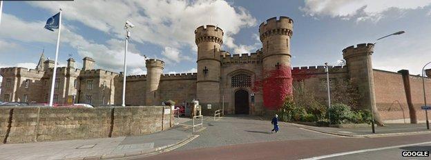 Leicester prison