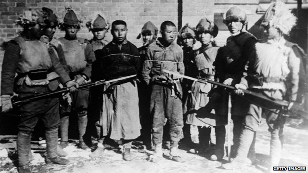 Prisoners of war in Manchuria, 1931