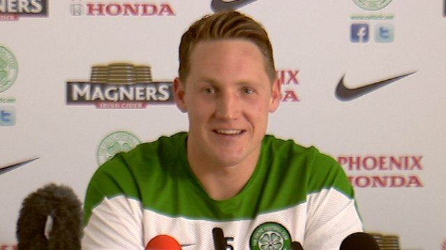 Interview - Celtic midfielder Kris Commons