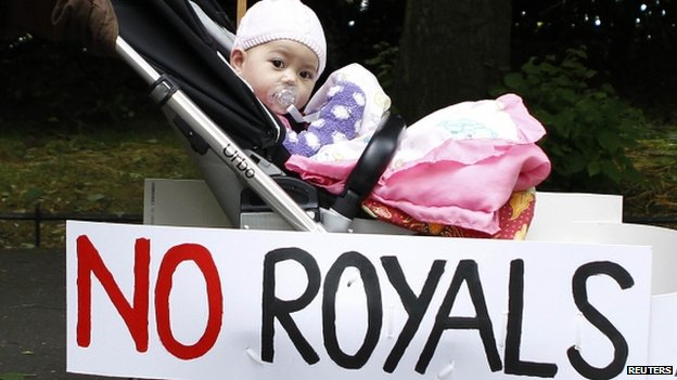 No to the monarchy