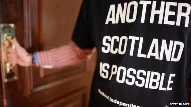 Radical independence T-shirt