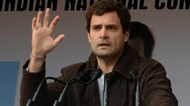Rahul Gandhi will lead the ruling Congress party's campaign in the general elections.