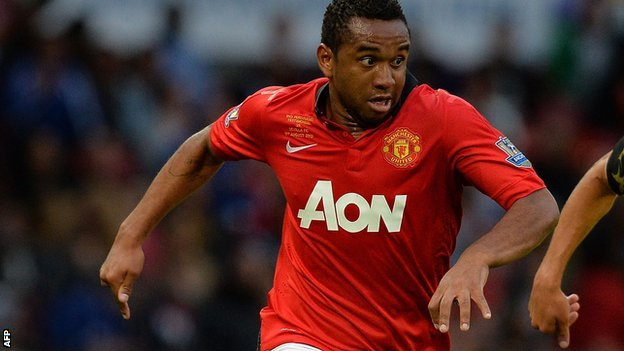Manchester United's Anderson