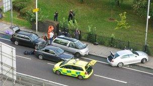 Aftermath of the shooting of Mark Duggan