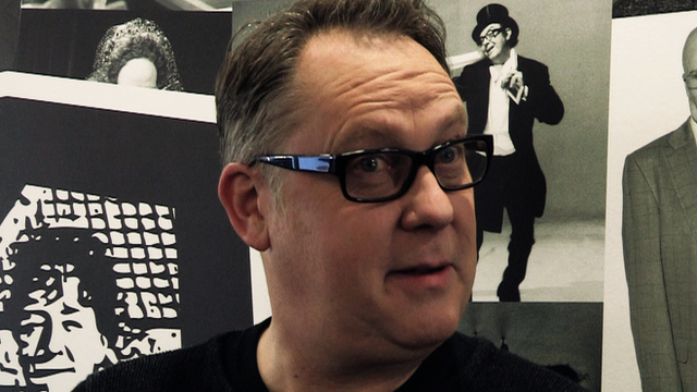 Comedian Vic Reeves