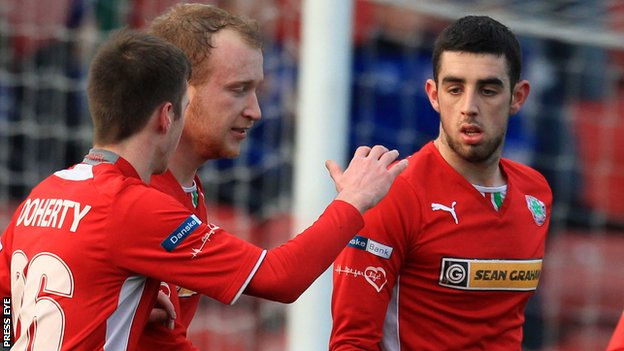 Liam Boyce and Joe Gormley have been in fine form for Cliftonville