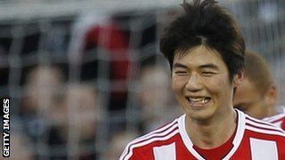 Ki Sung-Yeung celebrates scoring for Sunderland
