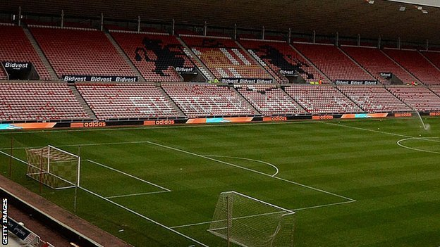 Sunderland's Stadium of Light ground