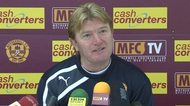 Interview - Motherwell boss Stuart McCall