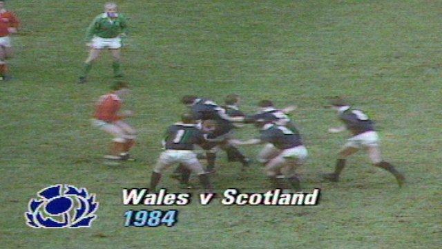Grand Slam 1984 - Wales 9-15 Scotland