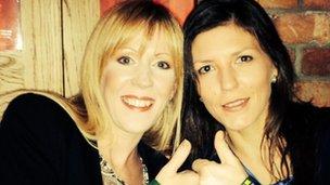 Lisa Gribbin and Joanne Roberts