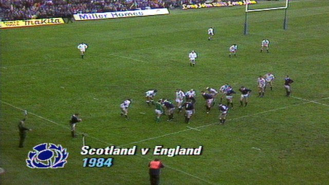 Grand Slam 1984 Scotland 18-6 England