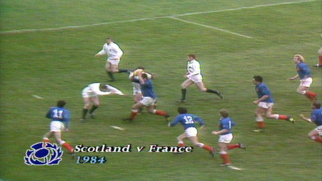 Grand Slam 1984 Scotland 21-12 France
