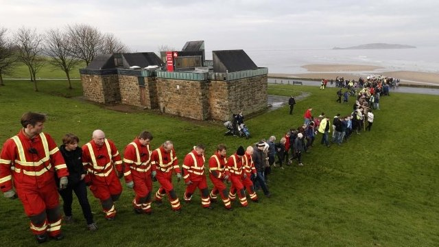 People gather to search for missing three-year-old Mikaeel Kular