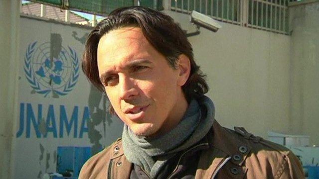 Ari Gaitanis UN Spokesman in Afghanistan
