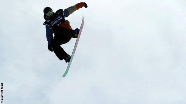 British slopestyle snowboarder Billy Morgan