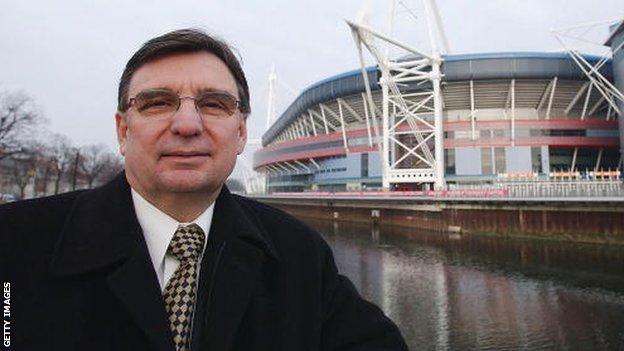 Former WRU chief David Moffett