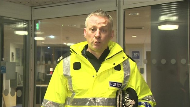 Assistant Chief Constable Malcolm Graham held a press briefing just after 23:00 GMT