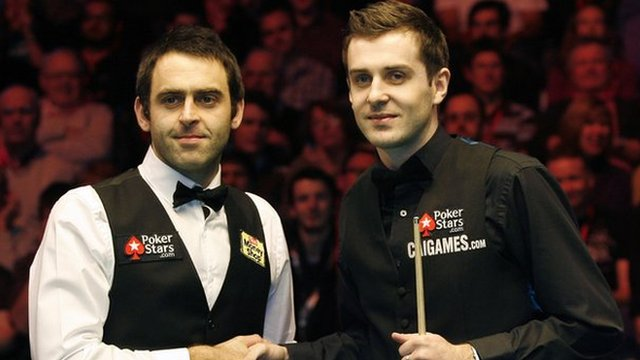 Ronnie O'Sullivan & Mark Selby