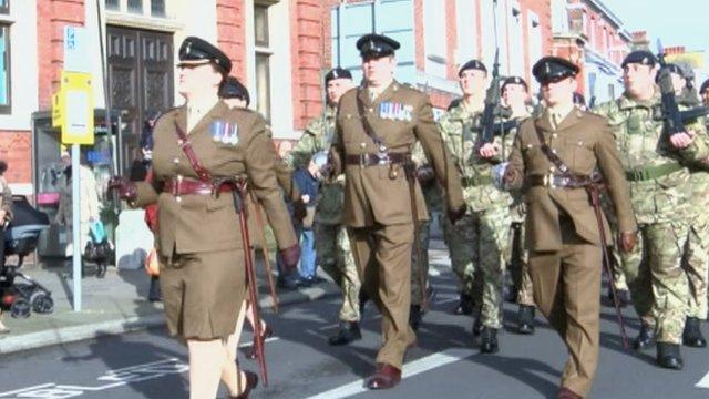 Eastbourne parade