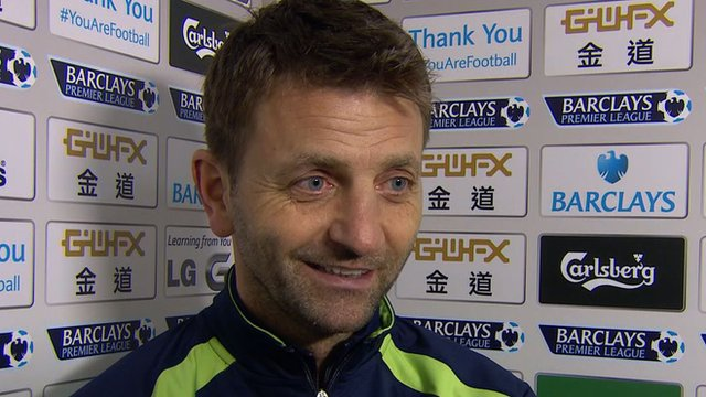 Tottenham head coach Tim Sherwood