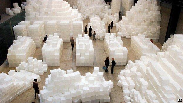 Rachel Whiteread's Turbine Hall installation