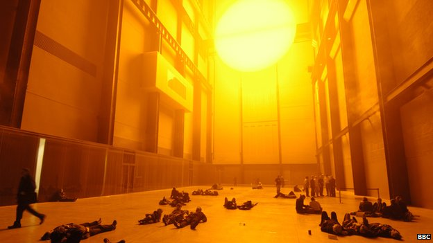 Olafur Eliasson's The Weather Project