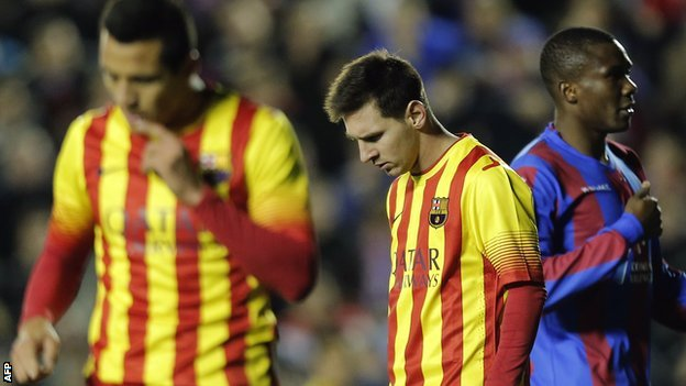 Barcelona vs Malaga