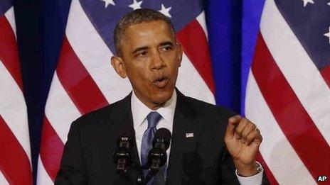 President Barack Obama. Photo: 17 January 2014