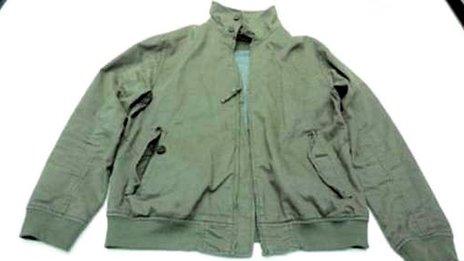 Suspect's jacket