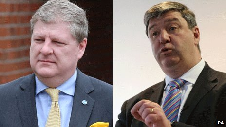Angus Robertson and Alistair Carmichael