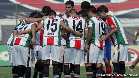 Palestino FC players