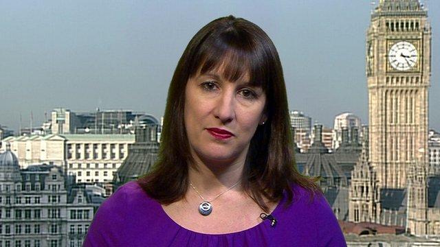 Shadow Work and Pensions Secretary, Rachel Reeves