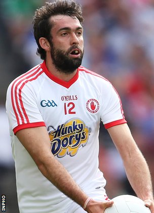 Tyrone's Joe McMahon is ruled out because of a groin injury