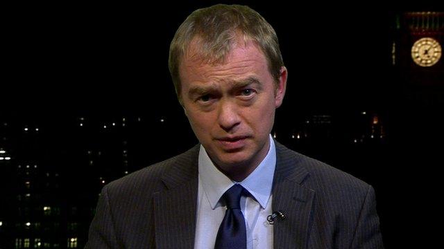 Lib Dem Party President, Tim Farron