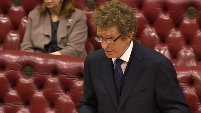 Justice Minister Lord Faulks