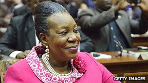 Central African Republic interim president Catherine Samba-Panza