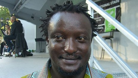 Binyavanga Wainaina    Photo by Nightscream, Wikimedia Commons