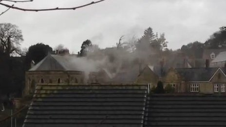 Alverton Manor Hotel fire