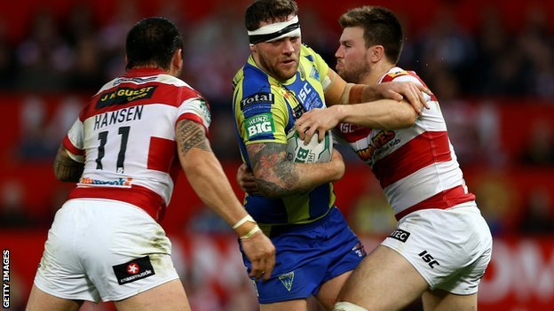 Wigan Warriors v Warrington Wolves