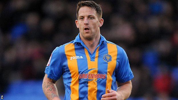 Shrewsbury Town centre-half Darren Jones