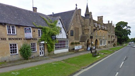 Broadway in Worcestershire