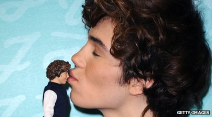 George and his look alike doll