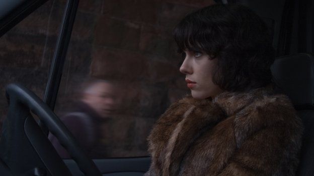Scarlett Johansson stars in Under the Skin, which was filmed in Scotland