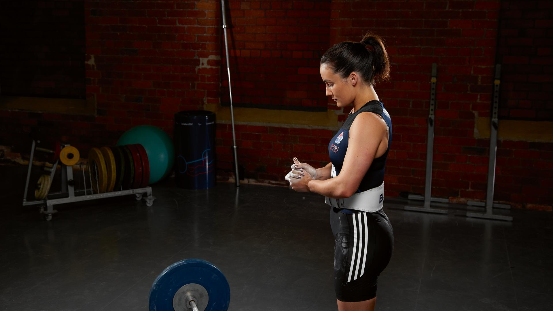 Sarah Davies will be aiming for Weightlifting gold at the Commonwealth Games in Glasgow