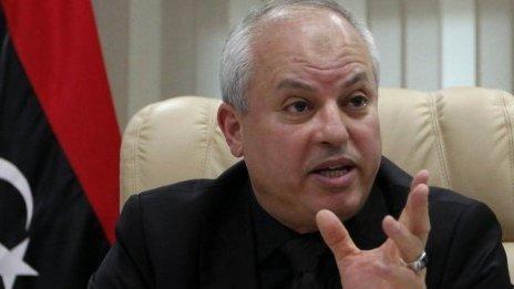 Libyan Oil Minister Abdelbari al-Arusi