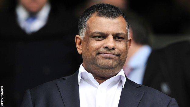 Caterham owner Tony Fernandes