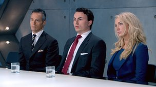 Leah Totton in the boardroom